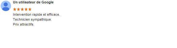 Cette note représente l'indice de satisfaction des clients qui ont appelé et ont été dépanné par SoS PC à Domicile. SoSPC57 a obtenu la note maximum, 5 étoiles sur 5 sur Google, vous pouvez consulter les vrais avis et laisser votre commentaire en cliquant ici. SoS PC à domicile vous remercie de votre confiance, nous sommes heureux d'avoir dépanné votre informatique et nous sommes fiers de vous compter parmi nos clients satisfaits