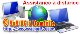 Assistance à distance SoS PC à Domicile
